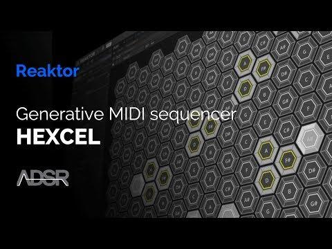 HEXCEL - Hex-Based Midi Generator ( Free download )