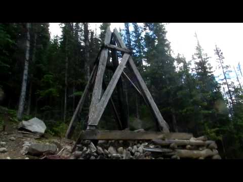Coming Down Off Of Mary Murphy Mine 7-21-2011