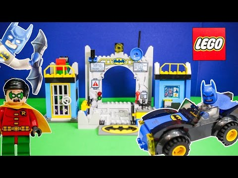 BATMAN Lego Batman Batcave Playset a Lego Batman Video Toy Review