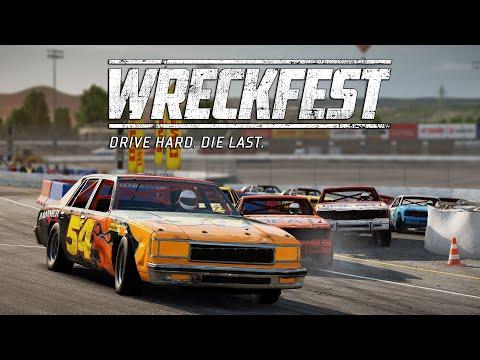 Wreckfest | Demolition Race Challenge @ Big Valley Speedway - Outer Loop