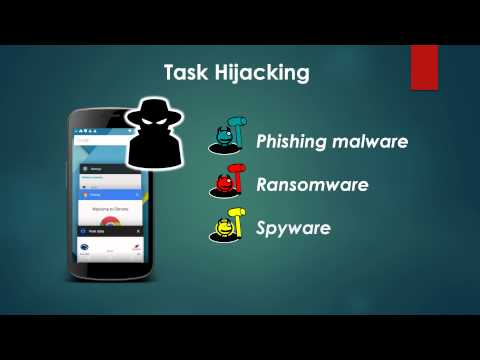 USENIX Security 2015 Lightning Talk - Android Task Hijacking