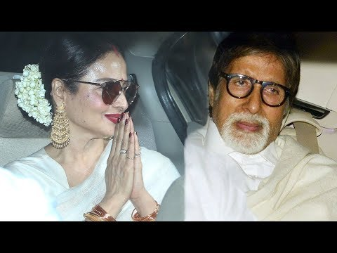 Rekha Can't Stop Smiling After Watching Amitabh Bachchan's 102 Not Out