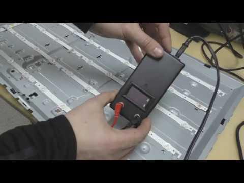 классный прибор для проверки LED (светодиодной) подсветки телевизора своими руками