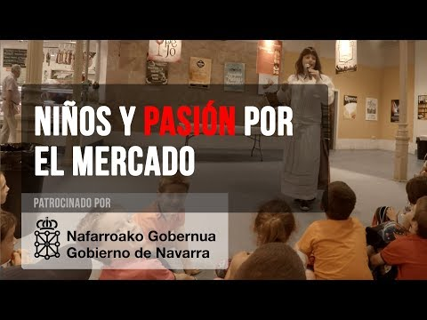 El Mercado de Santo Domingo y los niños - Mercado de Santo Domingo - Pamplona