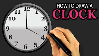 How To Draw A Clock (illustrator & Photoshop Tutorial) [draw This #53]
