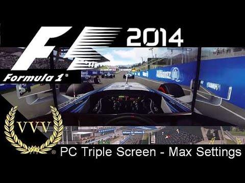 F1 2014 Gameplay - Red Bull Ring - Bottas - PC Max Settings - GoPro