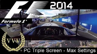 F1 2014 Gameplay - Red Bull Ring - Bottas - PC Max Settings - GoPro