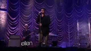 IMPROVED AUDIO: Adam Lambert - Better Than I Know Myself - Ellen - January 19, 2012