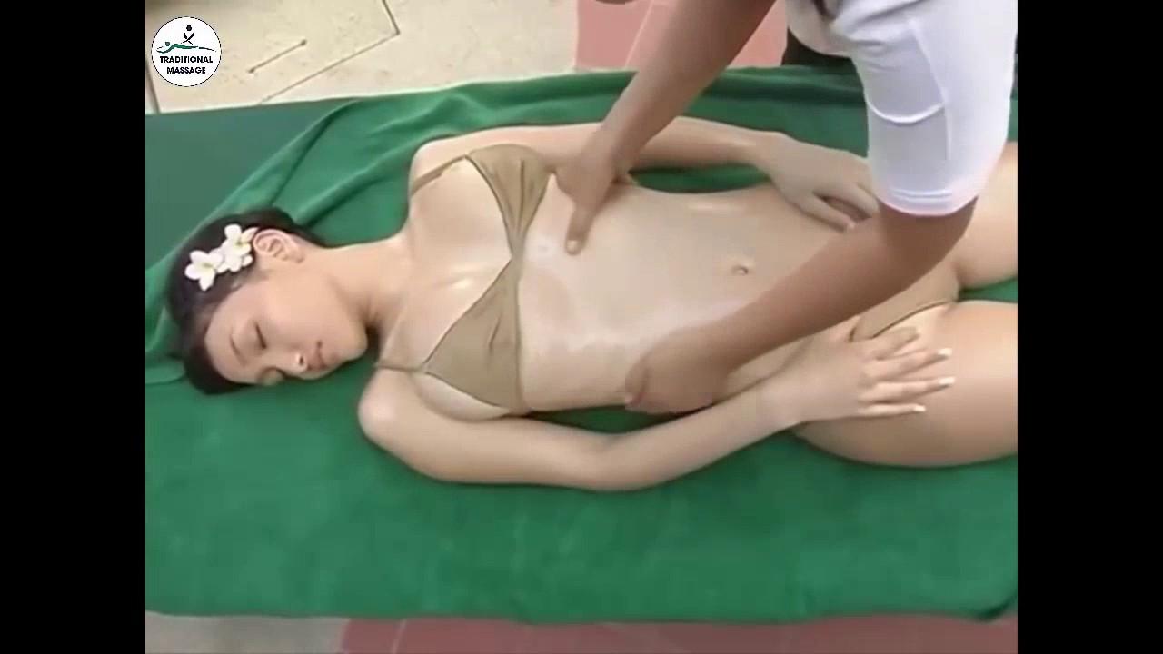 видео массаж японки