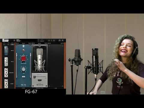 Microphones comparison feat. Olga Bogart (VMS, Manley, AKG, Audio-Technica) Part 1