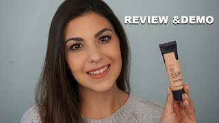 The Body Shop Matte Clay Skin Clarifying Foundation REVIEW & DEMO