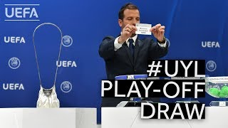 2019/20 UEFA Youth League Play-off Draw