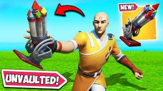 *NEW UPDATE* BOTTLE ROCKET IS BACK!! - Fortnite Funny Fails and WTF Moments! #807