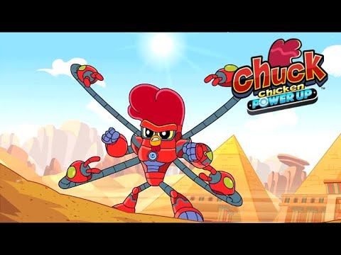 Chuck Chicken Power Up Special Edition - The Pyramid Guardians - Superhero cartoons