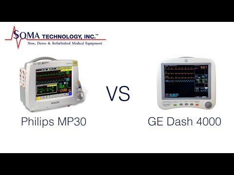 Differences Between The Philips MP30 And GE Dash 4000