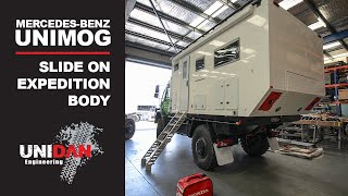 U5023 Unidan Slide On Expedition Vehicle - Kermit The Mog | UNIDAN ENGINEERING