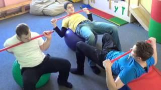 Урок физкультуры в коррекционной школе