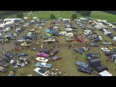 DJI F550 Dresden US Car Convention 1080p