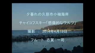 Tchaikovsky - Sentimental Waltz Op.51-6 flute Kazushi Shiga Rec. 20...