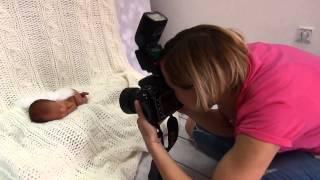 Fotografia noworodkowa Dominika Cieślik-Backstage