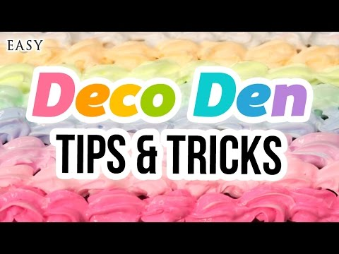 The Ultimate Guide to Deco Den!! Includes DIY Phone Case, Macaron Box and How To Clean Piping Tips