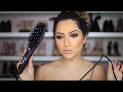The Straightening Hair Brush - The Skin Care Shop