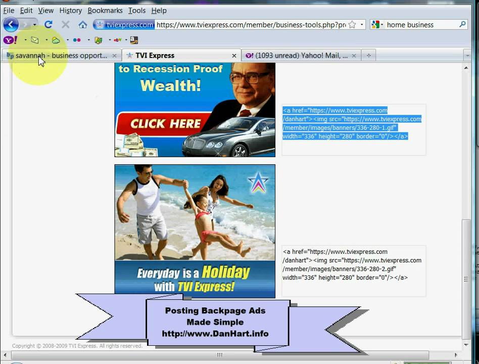 Backpage Ads Made Simple