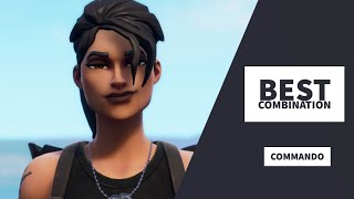 Best Combos | Commando | Fortnite SKin Review
