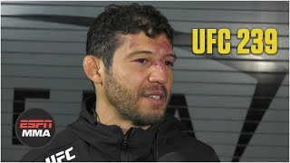 Gilbert Melendez: 'Hard to say' if I fight again | UFC 239 | ESPN MMA