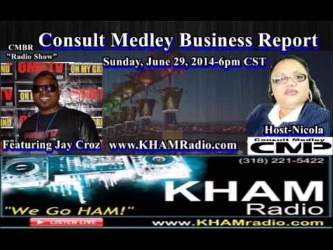 CMBR Radio Show -Jay Croz Interview OMGTV Producer on Tyrese and Shreveport