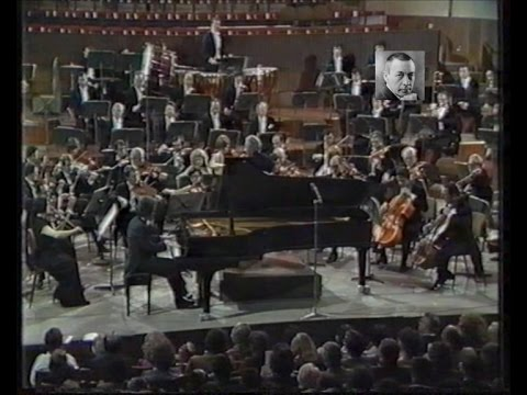 Cyprien Katsaris - TV live performance of Rachmaninov Piano Concerto No. 3