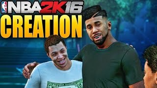 "NBA 2K16 My Career Mode Ep 1 - The Creation of David ""Freq"" iPodKingCarter"