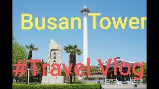 Busan tower & view | South korea | #travel vlog | AJ Vlogs