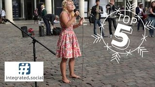 Sammie Jay Killing Me Slowly Amazing Barefoot Street Performers Stuns London Public With Her Voice