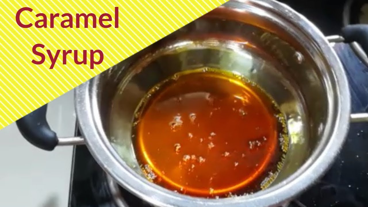 recipe: how to make caramel syrup [9]