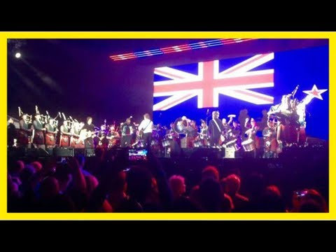 Auckland pipers up to mccartney challenge