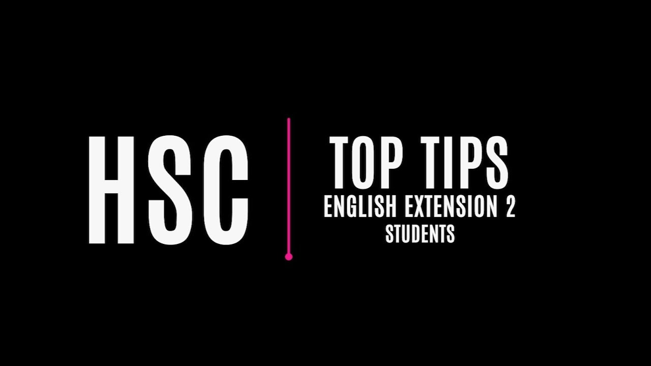HSC: English Extension 2 | State Library of NSW