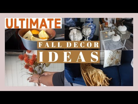 ULTIMATE FALL CLEAN AND DECORATE WITH ME | FALL DECOR IDEAS 2019