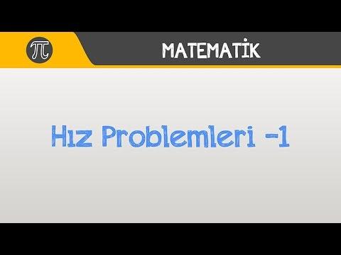 Hız Problemleri -1 | YGS, LYS, LİSE | Matematik | Hocalara Geldik