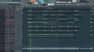 Postmalone - Rockstar (Fl Studio Remake + Free FLP ON 100 like + Vocal)