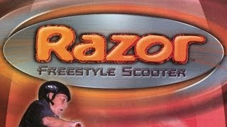Classic Game Room - RAZOR FREESTYLE SCOOTER review for Sega Dreamcast