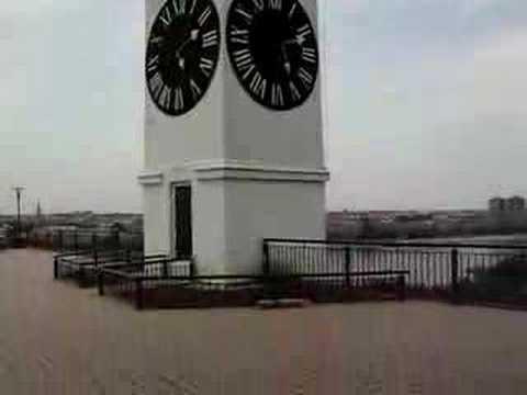 Petrovaradin fortress, with the clock tower - drunken hour (Petrovaradinska tvrdjava, sat sa kulom - pijani sat)