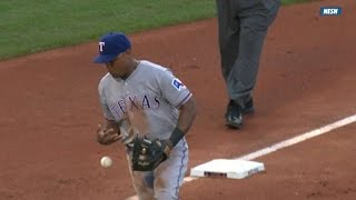 Video TEX@BOS: Shaw reaches after Beltre misplays grounder download MP3, 3GP, MP4, WEBM, AVI, FLV April 2018