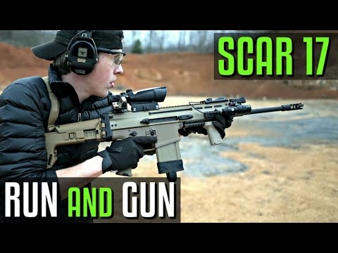 Running and Gunning with a FNH Scar 17