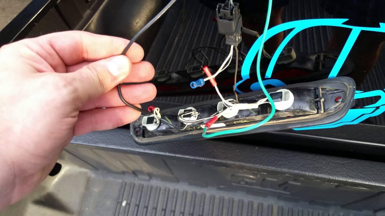 3rd brake light blinker mod Chevy Colorado  YouTube