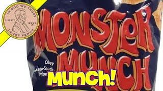 Monster Munch Cheese Snack & Spider Venom Sipping Cherry Cola