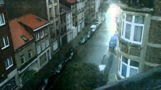 Inondation bruxelles