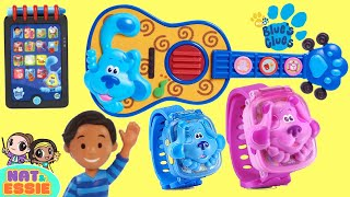 Blue's Clues and You Josh Guitar, Watches, Surprises with Magenta