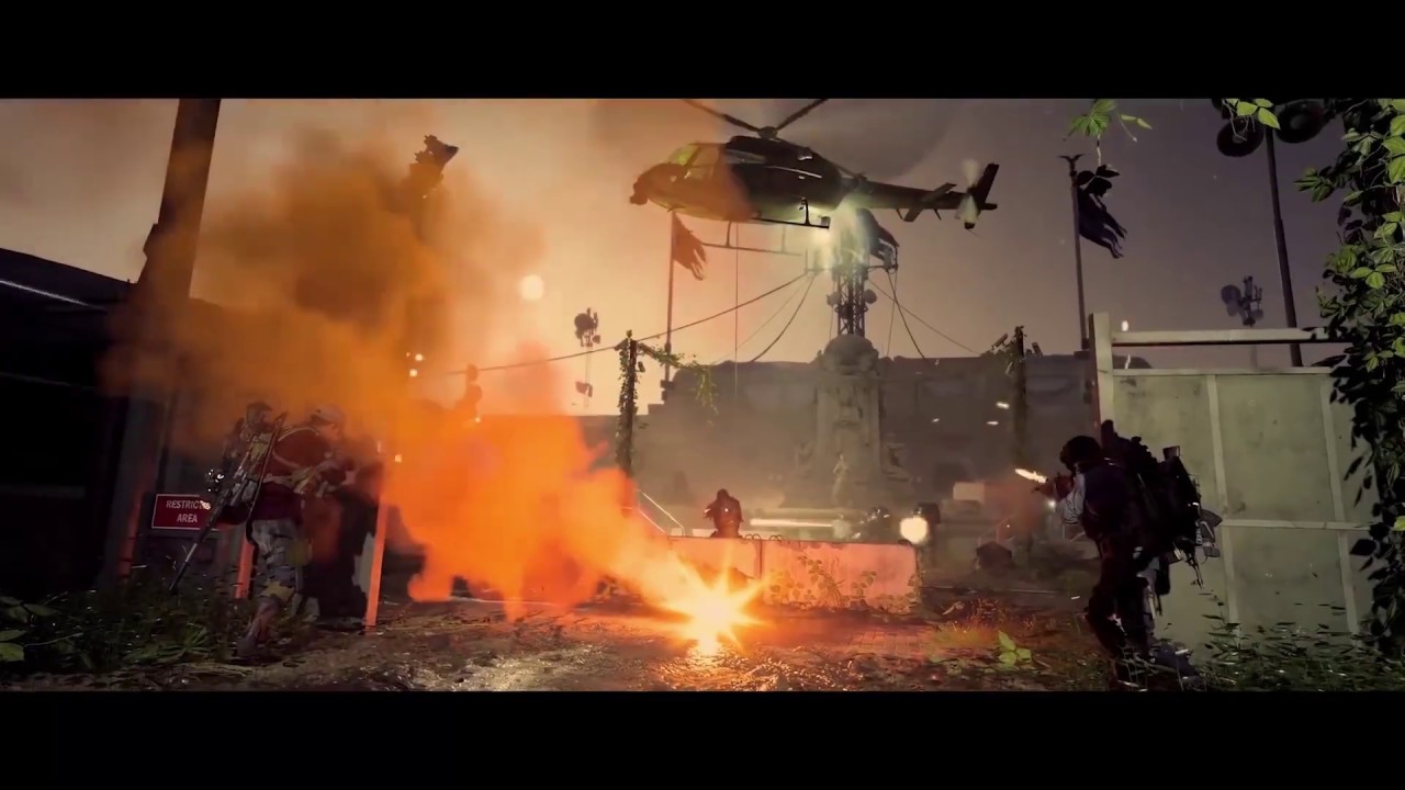 PS4《汤姆克兰西:全境封锁2》终局之战宣传影像