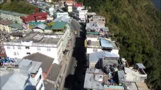 Gangtok from ropeway: background music Tum hi ho by Arijit singh